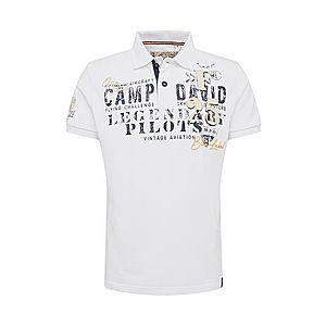 CAMP DAVID Tričko tmavomodrá / biela vyobraziť