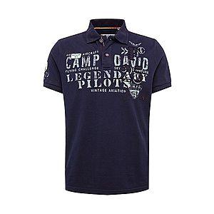 CAMP DAVID Tričko námornícka modrá / zmiešané farby / šedobiela vyobraziť