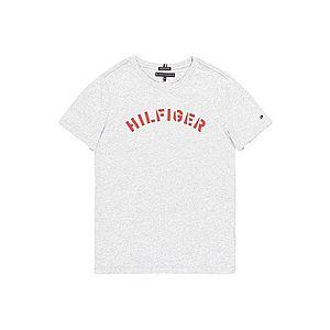 TOMMY HILFIGER Tričko sivá melírovaná vyobraziť