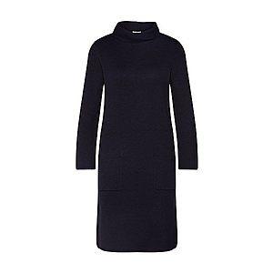 TOM TAILOR Pletené šaty čierna vyobraziť