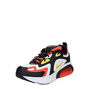 Nike Sportswear Tenisky 'Air Max 200' limetková / oranžovo červená / čierna / biela vyobraziť