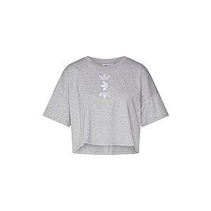 ADIDAS ORIGINALS Tričko sivá vyobraziť