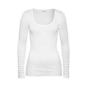 AMERICAN VINTAGE Tričko 'Massachusetts' biela vyobraziť