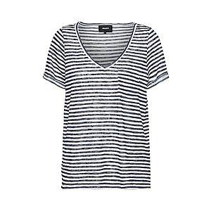 OBJECT Tričko modré / biela vyobraziť