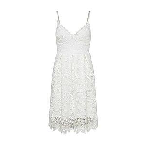 Lipsy Kokteilové šaty biela vyobraziť
