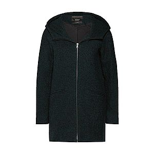 ONLY Zimný kabát 'onlANEMONE HOODED WOOL COAT' zelená / kaki vyobraziť