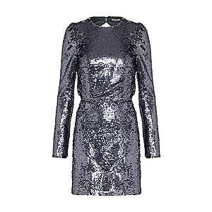 Fashion Union Šaty 'RANDO' strieborná vyobraziť