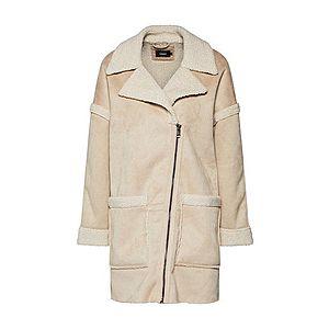 ONLY Zimný kabát béžová vyobraziť