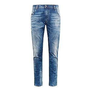 DIESEL Džínsy 'KROOLEY-T Sweat jeans' modrá denim vyobraziť