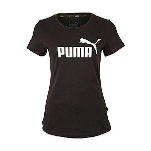 PUMA Funkčné tričko čierna / biela vyobraziť