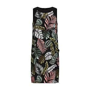 Dorothy Perkins Šaty zelená / lososová / čierna / biela vyobraziť
