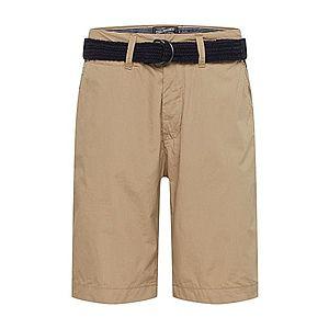 Petrol Industries Chino nohavice béžová vyobraziť