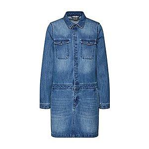 VERO MODA Šaty 'VMJENNA LS WORKER DRESS' modrá denim vyobraziť
