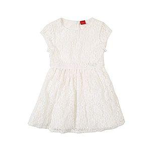 S.Oliver Junior Šaty biela vyobraziť