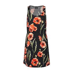 Forvert Letné šaty 'Batu' zelená / červené / čierna vyobraziť