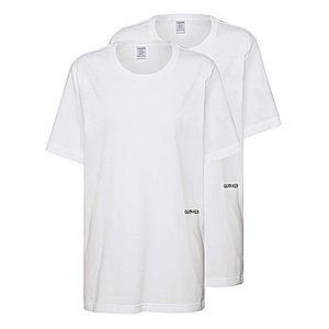 Calvin Klein Underwear Tričká na spanie 'S/S CREW NECK 2PK' biela vyobraziť