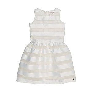 ESPRIT Šaty priehľadná / biela vyobraziť