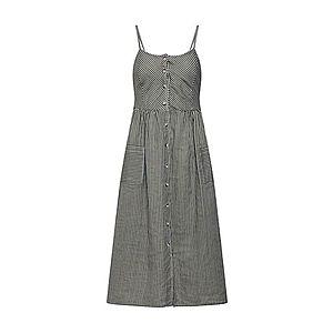 NA-KD Letné šaty zelená / biela vyobraziť