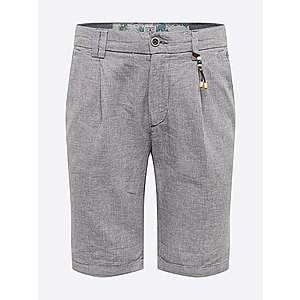 JACK & JONES Chino nohavice indigo / biela vyobraziť
