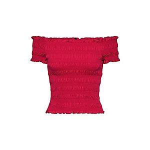 ONLY Tričko 'ALICIA' malinová vyobraziť