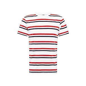 Urban Classics Tričko námornícka modrá / červené / biela vyobraziť