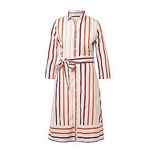 TOM TAILOR Košeľové šaty biela vyobraziť