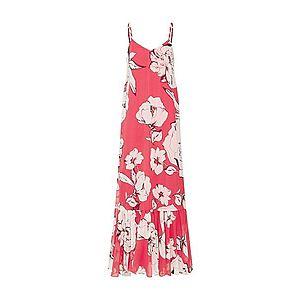 MAX&Co. Letné šaty 'PAZIENTE' červené / biela vyobraziť