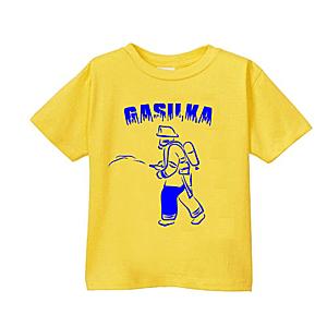 Smešna otroška majica gasilka vyobraziť
