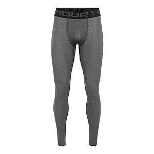 UNDER ARMOUR Športové nohavice tmavosivá / čierna vyobraziť