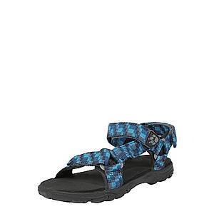 JACK WOLFSKIN Otvorená obuv 'Seven Seas 2' modré / čierna vyobraziť
