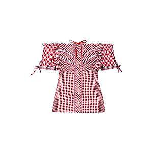 STOCKERPOINT Krojová blúzka 'Clio' červené / biela vyobraziť