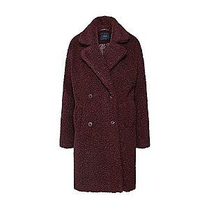 Y.A.S Zimný kabát vínovo červená vyobraziť