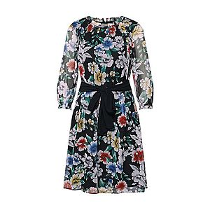 Esprit Collection Šaty 'Crinkle Poly Ch' čierna vyobraziť