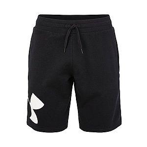 UNDER ARMOUR Športové nohavice 'RIVAL' biela / čierna vyobraziť