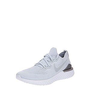 NIKE Bežecká obuv 'Nike Epic React Flyknit 2' svetlosivá vyobraziť
