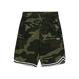 GAP Nohavice zelená / čierna / biela vyobraziť