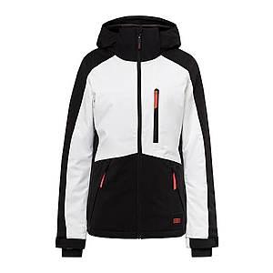 O'NEILL Outdoorová bunda 'PW APLITE' čierna / biela vyobraziť