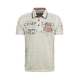 CAMP DAVID Tričko tmavomodrá / sivá vyobraziť