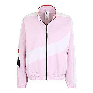 REEBOK Športová bunda biela / ružová / červené / čierna vyobraziť