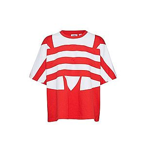 ADIDAS ORIGINALS Tričko červené / biela vyobraziť