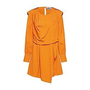 JUST FEMALE Šaty 'Shira' oranžová vyobraziť