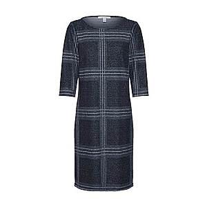 ESPRIT Šaty 'Sweat Dress' čierna / sivá vyobraziť