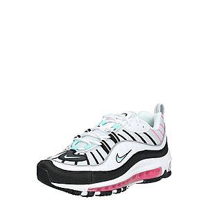 Nike Sportswear Nízke tenisky 'Air Max 98' zelená / biela / čierna vyobraziť