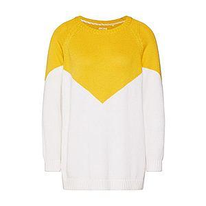 ONLY Sveter 'SARA' biela / žlté vyobraziť