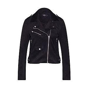 ONLY Prechodná bunda 'SHERRY BONDED BIKER' čierna vyobraziť