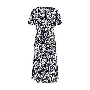 Lauren Ralph Lauren Večerné šaty biela / námornícka modrá vyobraziť