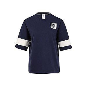 PUMA Funkčné tričko 'PUMA X SG' biela / tmavomodrá vyobraziť