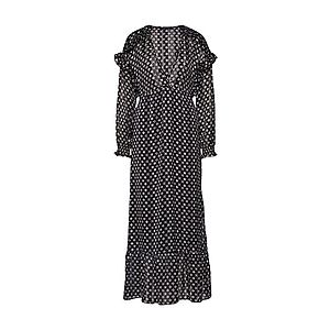 SCOTCH & SODA Večerné šaty biela / čierna vyobraziť