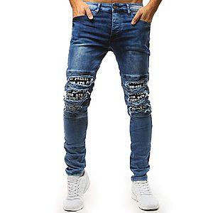 Modré pánske džínsové nohavice (ux1531) skl.8 vyobraziť