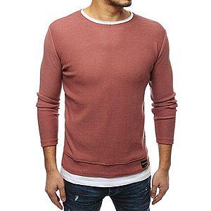 Pánsky ružový sveter vyobraziť